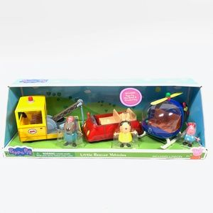 PEPPA PIG Little Rescue Vehicles Playset 3-Pack